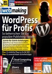 Die webmaking mit großem WordPress Spezial