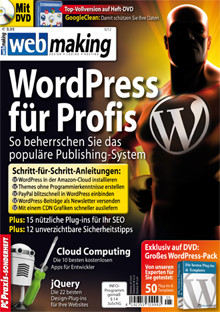Webmaking WordPress Spezial