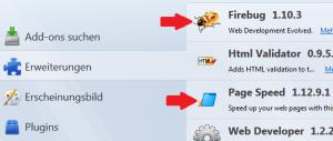 Bildoptimierung für Webseiten mit Firebug und Google Pagespeed