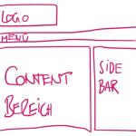 Struktur einer Webseite