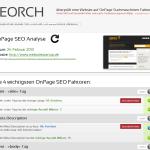 Seorch.de - Kostenlose Onpage Analysetool