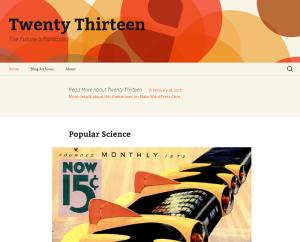 WordPress 3.6 – Neues Standard-Theme Twenty Thirteen