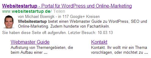 Titel und Meta Description in den Suchergebnissen