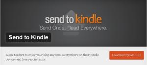 "Wordpress Plugin zum ""Send to Kindle""-Button"