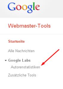 Google Webmastertools Autorenstatistik – Eine Übersicht für Autoren