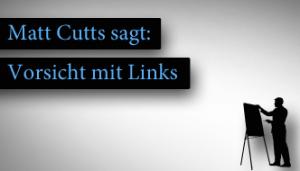 Matt Cutts sagt: Vorsicht mit Links in Widgets