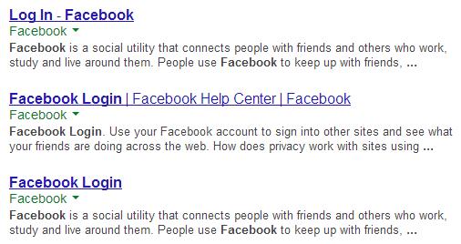 Google Experiment mit versteckte URLs teil2