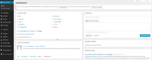 wordpress 3.8 admin dashboard