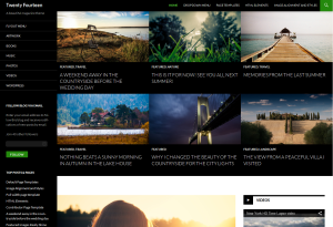 wordpress standard theme twenty fourteen