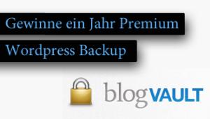 Blogvault – Gewinne ein Jahr Premium WordPress Backup