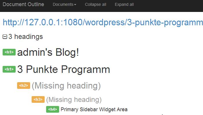 Zwei H1 Überschriften auf einer HTML Seite