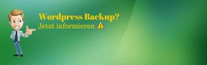 WordPress Backup erstellen – So geht´s