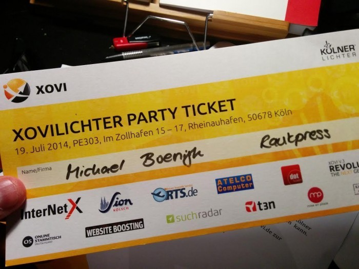 xovilichter party