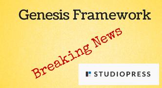 Genesis Framework News