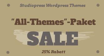 Studiopress Themes reduziert