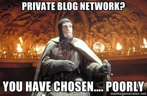 privates blog netzwerk schlecht