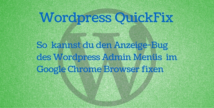 Wordpess fix admin dashboard google chrome 45